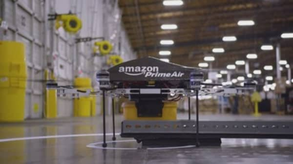 Amazon secures patent to protect drone delivery