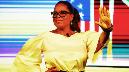 Oprah Winfrey during an event on December 02, 2016 in Johannesburg, South Africa.