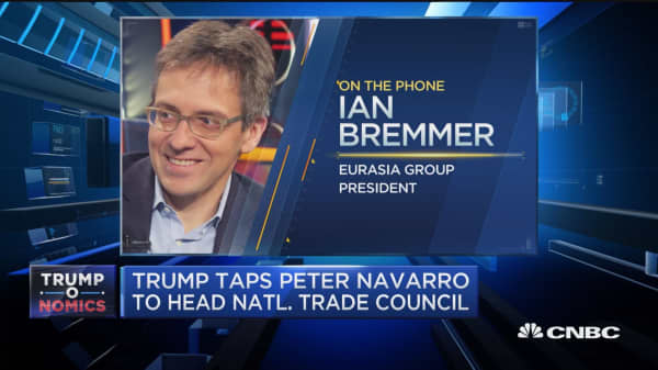 Bremmer: Navarro a 'credible' choice for trade council