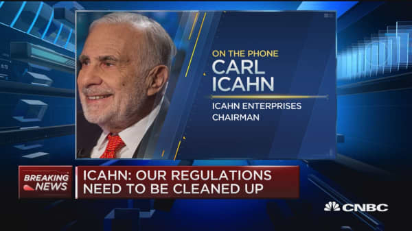 Icahn: Better accountability needed in Corporate America