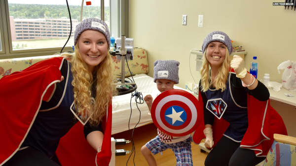 This class project became a $20 million company while helping kids with cancer