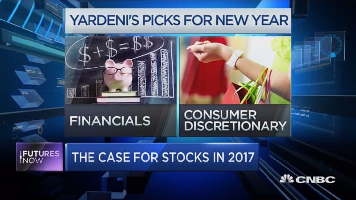 Financials, consumer discretionary stocks to emerge as 2017 leaders: Yardeni
