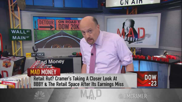 Cramer dissects whether you need to worry about the Dow's decline