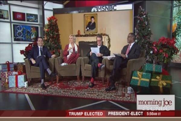 Trump talks nuclear arms on 'Morning Joe'