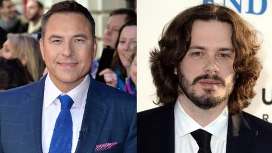 Comedian/Author David Walliams (L) | Writer/Director Edgar Wright (R)