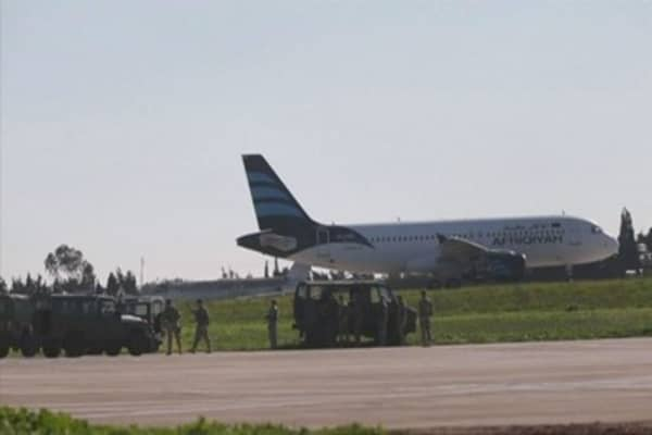 Passengers released from hijacked Libyan plane