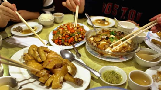 its true chinese food is really popular on christmas