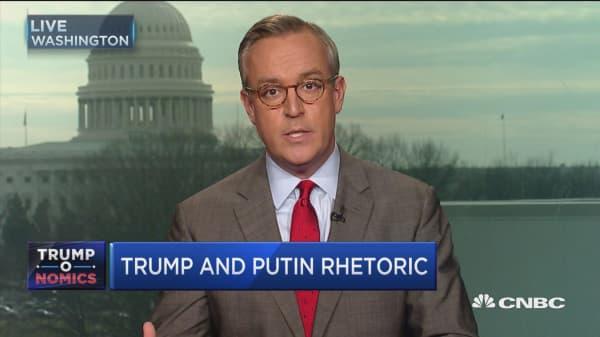 Trump and Putin rhetoric