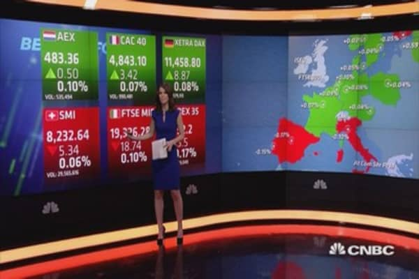 European stocks open slightly higher in thin holiday trade