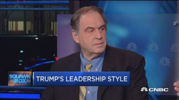 Trump's style vs. CEO expectations