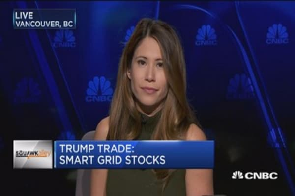 Trump trade: Smart grid stocks