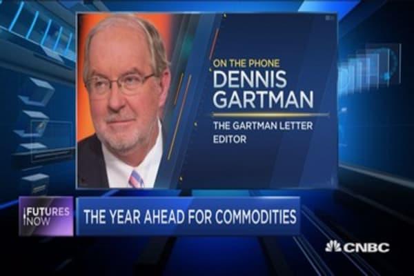 Gartman's commodity calls for 2017