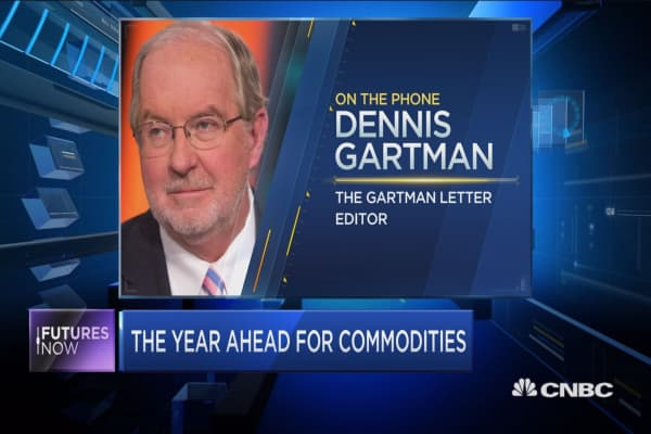 This is the one commodity to own in 2017: Gartman