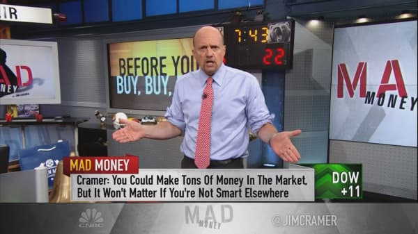 Cramer's 3 things you must have in place before you invest