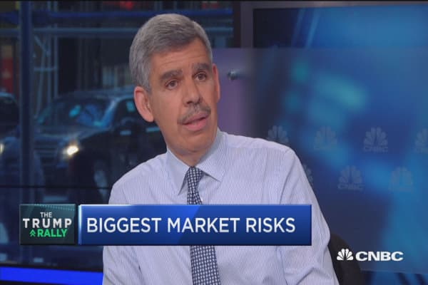 Liquidity biggest risk to financials: El-Erian