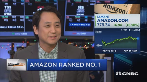 Amazon's 'best holiday ever'