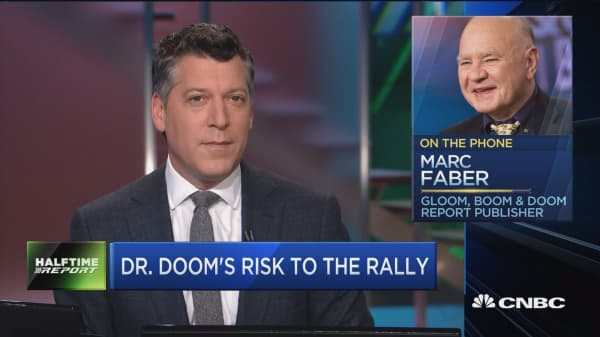 Faber: Rising rates could kill the rally