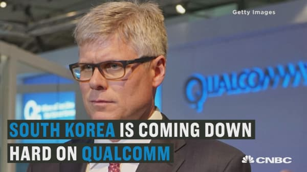 South Korea just issued its biggest fine yet to Qualcomm