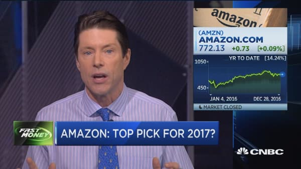 Will Amazon be best stock in 2017?