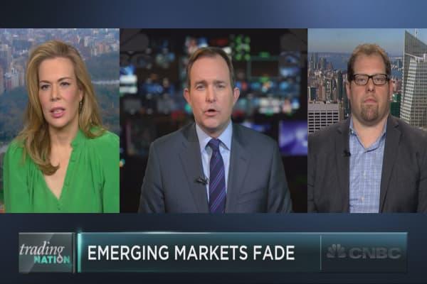 Emerging market majorly underperform