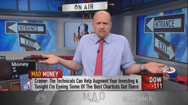 Jim Cramer's guide to finding bulletproof stocks using charts