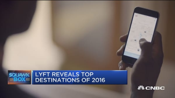 Executive Edge: Lyft's top 2016 destinations