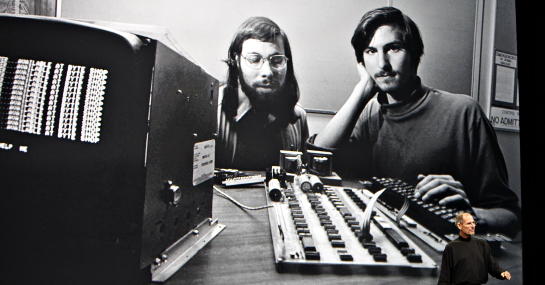 Bill Fernandez, Apple's first employee, knew Steve Jobs (right) and Steve Wozniak (left) since childhood.