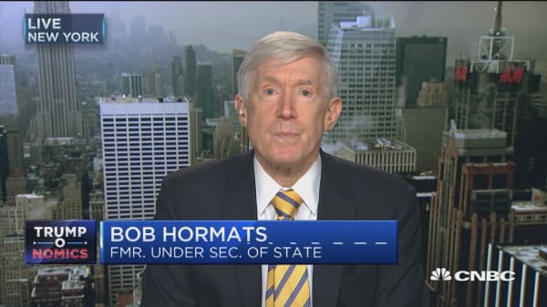Both US and China to be disrupted with a trade war: Hormats