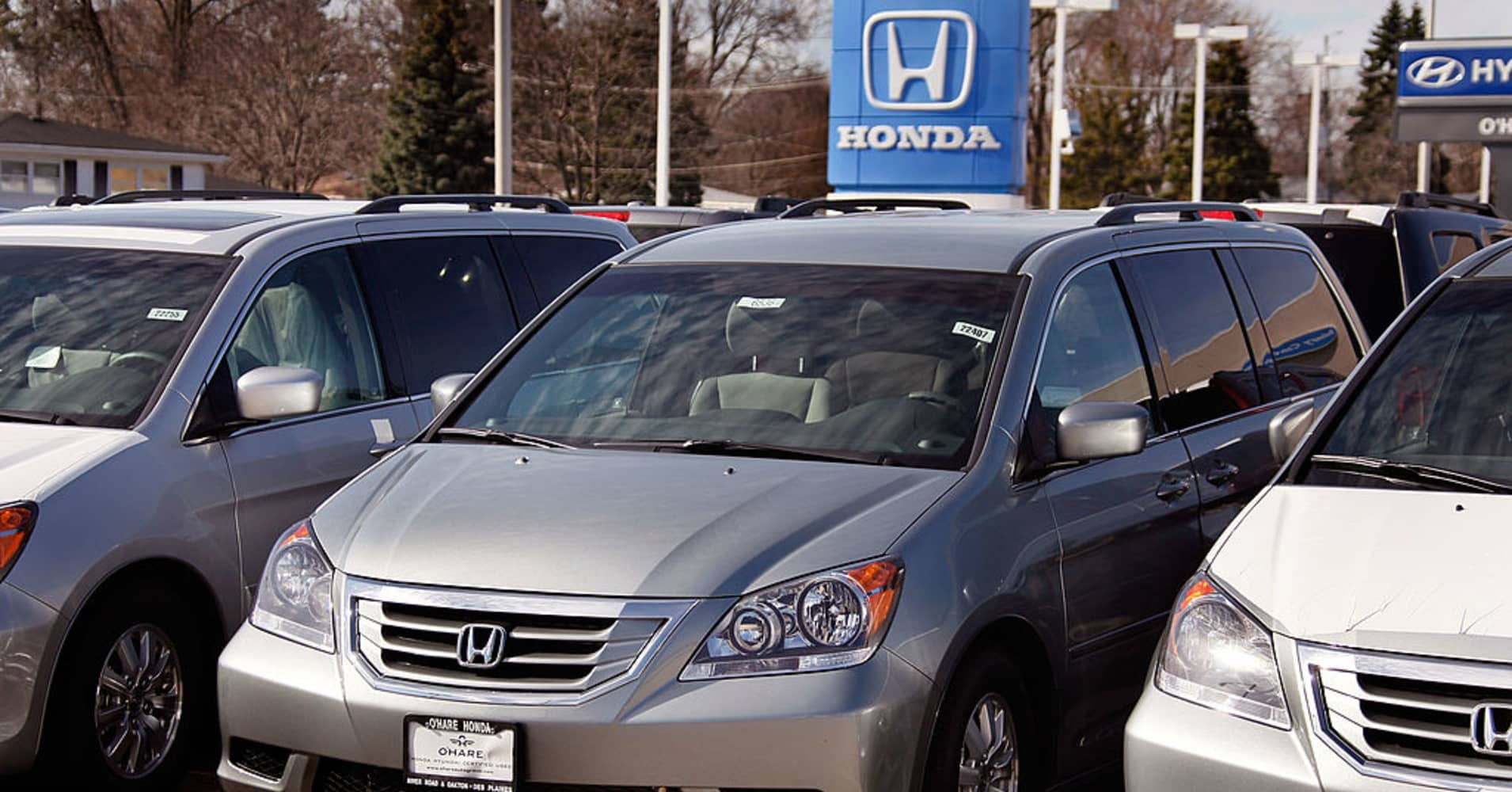 Honda to recall about 650,000 Odyssey minivans in US