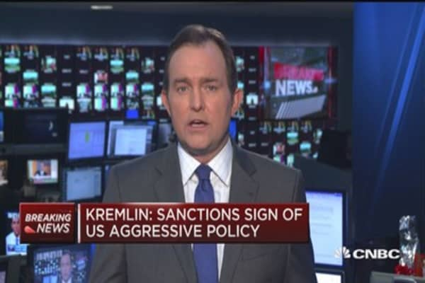 Kremlin: US sanctions are unlawful