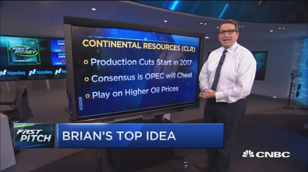 Here's how to play higher oil prices