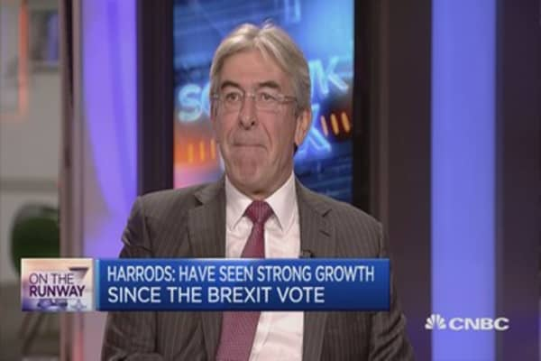 Harrods: Expect strong growth to continue in 2017