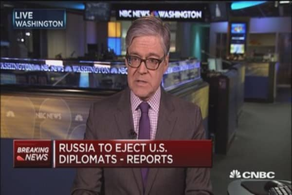 Russia retaliates for US sanctions