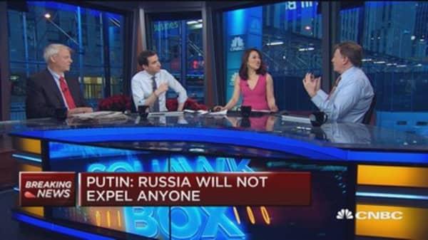 Putin: Russia will not expel anyone