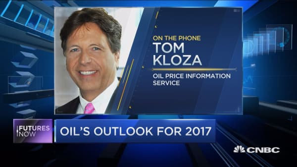 Don't expect a huge run up for oil in 2017: Kloza