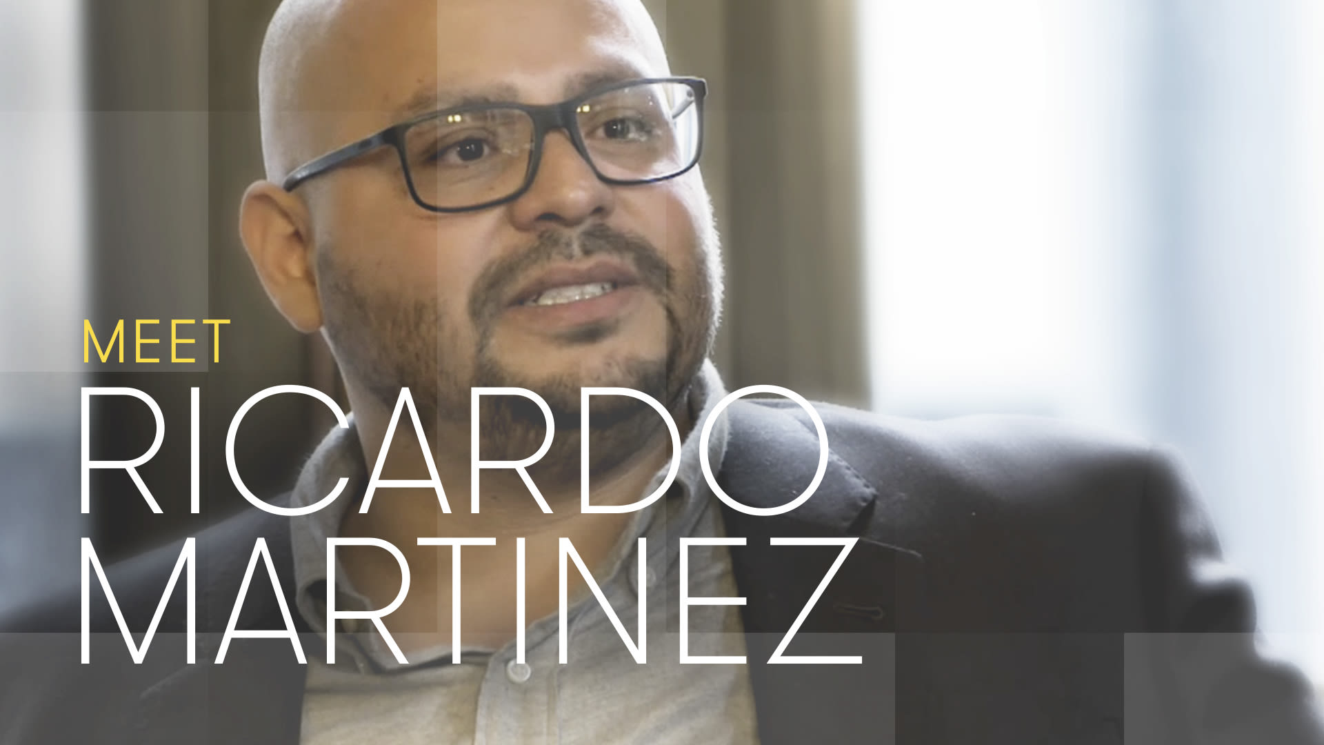 The Partner contestant Ricardo Martinez