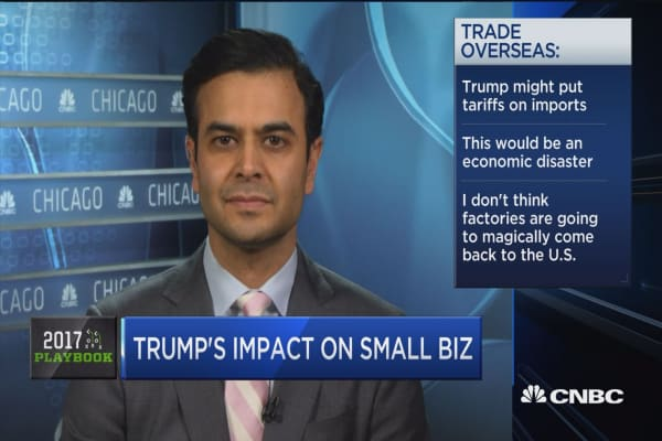 Trump's impact on small business