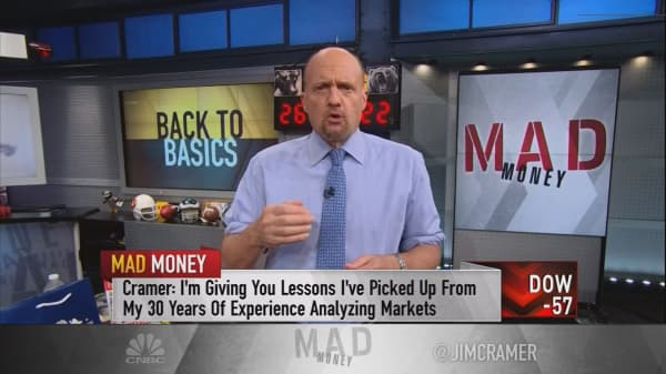 Jim Cramer's technique for home-gamers to combat stock market volatility