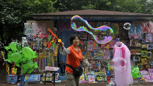 There are more bubbles than over-capacity in the Chinese economy, says independent economist Andy Xie.
