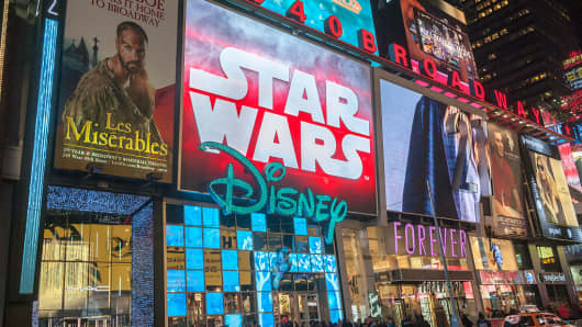 Disney Store in Times Square in New York on Tuesday, December 15, 2015.