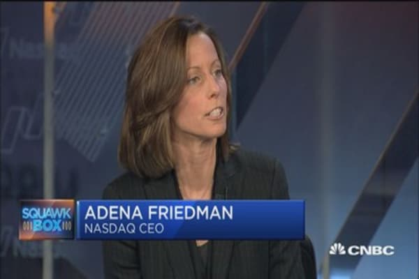 Nasdaq CEO: Our big focus is on technology