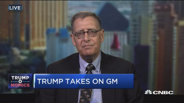 Trump targets automakers