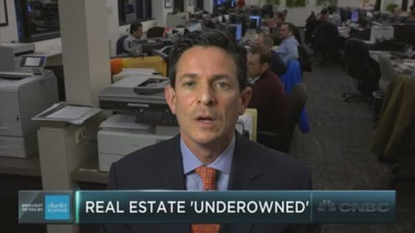 Real estate most under-owned sector: BofAML