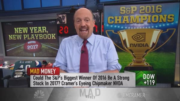 Cramer's winners of the S&P for 2017