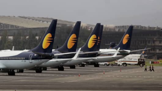 Jet Airways planes