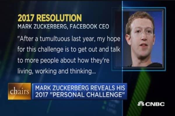 Executive Edge: Zuckerberg's 2017 resolution