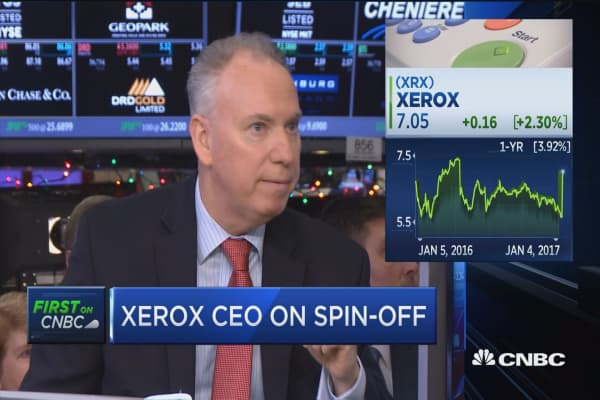Xerox's Jacobson: We're all about productivity