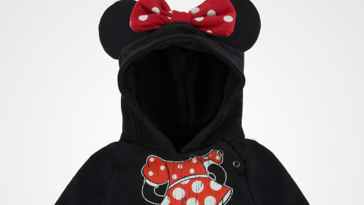 Walt Disney Parks and Resorts recalls Minnie and Mickey Mouse infant hoodie sweatshirts.