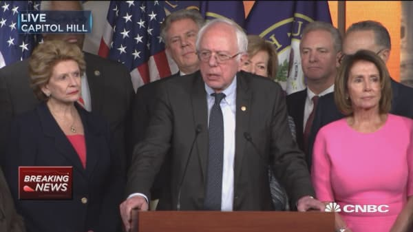 Bernie Sanders calls out Trump over Medicare, Medicaid