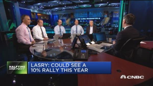 Lasry: Could see a 10% rally this year